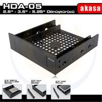 """Akasa 5.25"""" Multi-Fonksiyonel 2.5""""/3.5"""" SSD / HDD Dönüştürücü Aparat (AK-HDA-05)"""