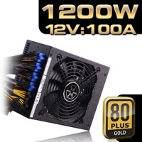 SilverStone Strider 1200W 80+ Gold 13,5cm Fanlı Power Supply (SST-ST1200-G)