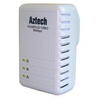 Aztech HL106E 85Mbps Homeplug Ethernet Adaptör (Tekli)