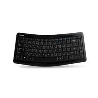 Microsoft T9t-00018 Siyah Bluetooth Sculpt Mobile Türkçe/Çev Q Multimedia Kablosuz Klavye