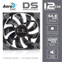 "Aerocool ""Dead Silence"" 12cm Siyah Sessiz Kasa Fanı (AE-CFDS120BK)"