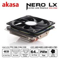 Akasa Nero LX 775/1155/1156/1150/1151 AM2/AM2+/AM3/AM3+ Uyumlu İşlemci Soğutucusu(AK-CC4011EP01)