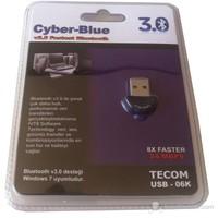 Tecom Cyber Blue Usb 3.0 Bluetooth