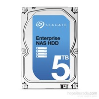 """Seagate Enterprise NAS HDD 5TB 3.5"""" 7200RPM Sata 3.0 128Mb Nas Disk (ST5000VN0001)"""