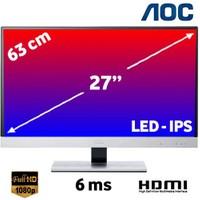 "AOC i2757FH 27"" 6ms GtG (Analog+2xHDMI) Full HD IPS Led Monitör"