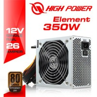 High Power 350W 80+ Bronze Güç Kaynağı (HPG-350BR-H14S)