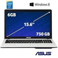 """Asus X550LC-XX172H Intel Core i5 4200U 1.6GHz / 2.6GHz 6GB 750GB 15.6"""" Taşınabilir Bilgisayar"""