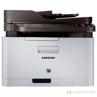 Samsung SL-C460FW WiFi Faks + Fotokopi + Tarayıcı + Renkli Airprint Laser Yazıcı