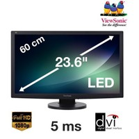 "ViewSonic VG2433 23.6"" 5ms (Analog+DVI) Full HD Led Monitör"