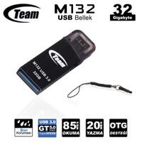 Team M132 Serisi USB 3.0 Micro USB 32GB Flash Bellek (Cep Telefonları Uyumlu) (TMUM13232G)