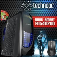 Technopc W016 SMART FD5411200 Intel Core i5 540M 2.53GHz 4GB 120GB SSD Masaüstü Bilgisayar