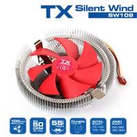 TX Silent Wind 108 775/1155/1156/1150/1151 AM2/AM2+/AM3/AM3+ Uyumlu İşlemci Soğutucu (TXCCSW108)