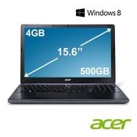 """Acer E1-522-65204G50Mnkk AMD A6-5200 2.0GHz 4GB 500GB 15.6"""" Taşınabilir Bilgisayar"""