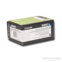 Lexmark Cx310-Cx410 (80C8sc0 2.000 Syf. Mavi Toner