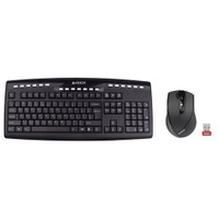 A4 TECH 9200F 2.4Ghz Nano Kablosuz SET (Q-Multimedya Klavye + V-Track Mouse)
