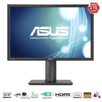 "Asus PB278Q 27"" 5ms (Analog+Dvi+HDMI+DisplayPort) Full HD PLS Monitör"