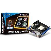 MSI FM2-A75IA-E53 AMD A75 2133MHz (OC) DDR3 Soket FM2 mini-ITX Anakart
