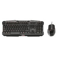 Trust GXT 282 Oyuncu Klavye Mouse Set 20543