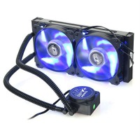 Dark AquaForce W240 775/1155/1156/1150/1151 AM2/AM2+/AM3/AM3+ Uyumlu Çift Fanlı Sıvı Soğutma Sistemi (DKCCW240)