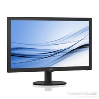 "Philips 223V5LHSB/00 21.5"" 5ms (Analog+HDMI) Full HD Led Monitör"