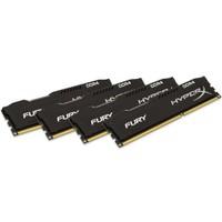 Kingston HyperX Fury Black 32GB(8x4) 2666MHz DDR4 Ram (HX426C15FBK4/32)