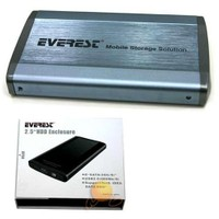 "Everest HDC-160 2.5"" USB2.0 IDE/E-SATA Harddisk Kutusu"