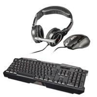 Trust GXT 280 Oyuncu Klavye + GXT 249 Oyuncu Mouse ve Kulaklık