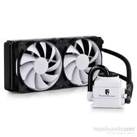 Deep Cool CAPTAIN240 Beyaz Soket Intel ve AMD , Su bazli İşlemci Soğutucusu