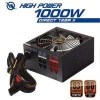 High Power Direct12 1000W 80+Bronze 13.5cm Fanlı Güç Kaynağı (HPL-1000BR-F14C)