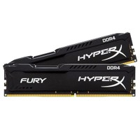 Kingston HyperX Fury Black 16GB(2x8GB) 2666MHz DDR4 Ram (HX426C15FBK2/16)