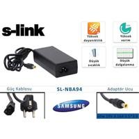 S-Link Sl-Nba94 60W 19V 3.16A 5.5*3.0 Samsung Notebook Standart Adaptör