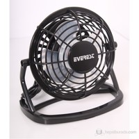 Everest EFN-488 Siyah Plastik USB Fan