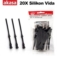 Akasa 20 x Sessizleştirici Silikon Fan Vidas (AK-MX003)