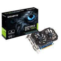 Gigabyte Nvidia GeForce GTX 750 Ti Windforce OC 4GB 128Bit GDDR5 (DX12) PCI-E 3.0 Ekran Kartı (GV-N75TWF2OC-4GI)