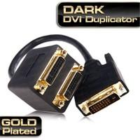 Dark DVI - 2xDVI Görüntü Çoklayıcı (DVI Erkek - 2xDVI Dişi) (DK-HD-ADVIX2DVI)