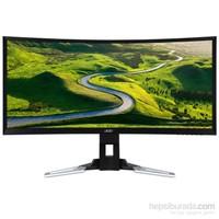 """Acer XZ350CUbmijphz 35"""" 4ms (2xHDMI+2xDisplay) WQHD Curved Adaptive-Sync VA Oyuncu Monitör"""