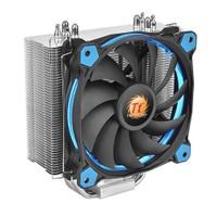 Thermaltake Riing Silent Intel LGA2011/1366/115x/775/AMD FM2/AM2 12cm Mavi Fanlı CPU Soğutucu CL-P022-AL12BU-A