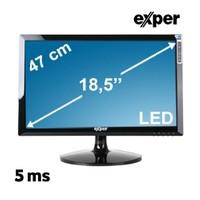 """Exper H2L-GVD1 18.5"""" 5ms (Analog+Dvi) Siyah LED Monitör"""