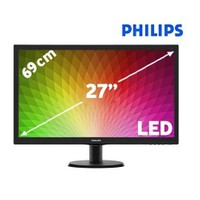 "Philips 273V5LHAB/00 27"" 5ms (Analog+DVI+HDMI) Full HD LED Monitör"