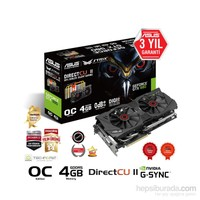 Asus Nvidia GeForce GTX 980 4GB 256Bit GDDR5 (DX12) PCI-E 3.0 Ekran Kartı (STRIX-GTX980-DC2OC-4GD5)