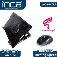 Inca INC-341TSS Notebook Soğutucu + Siyah Mouse Seti
