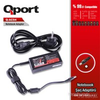 Qport Acer 65W 19V 3.42A 5.5*2.1 Acer Netbook Standart Adaptor (QS-AC04)