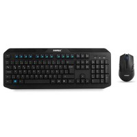 Everest KM-8000 Siyah Kablosuz Klavye Mouse Set 14860
