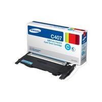 Samsung CLT-C407S 1000 Sayfa Kapasiteli Mavi Toner
