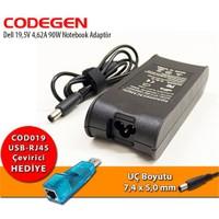 Codegen Dell 19,5V 4,62A 90W Notebook Adaptör