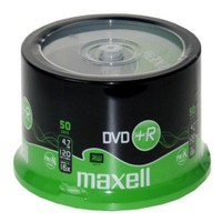 Maxell DVD+R 16X 4,7GB 120MIN Data/Video 50'Li Cakebox