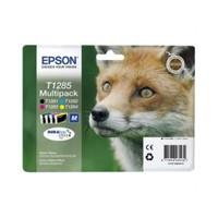 Epson C13T12854020 / T1285 4 Renk Kartuş Paket (Siyah-Kırmızı -Mavi-Sarı)