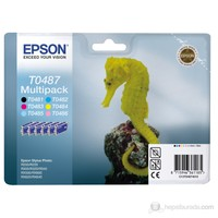 Epson C13T048740 / T0487 Multipack KARTUŞ-6 Renk Bir Arada!!!