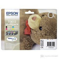 Epson C13T06154010 / T0615 Multipack KARTUŞ-4 Renk Bir Arada!!!