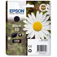 Epson T180140 XP202-205 (18) Siyah Kartuş